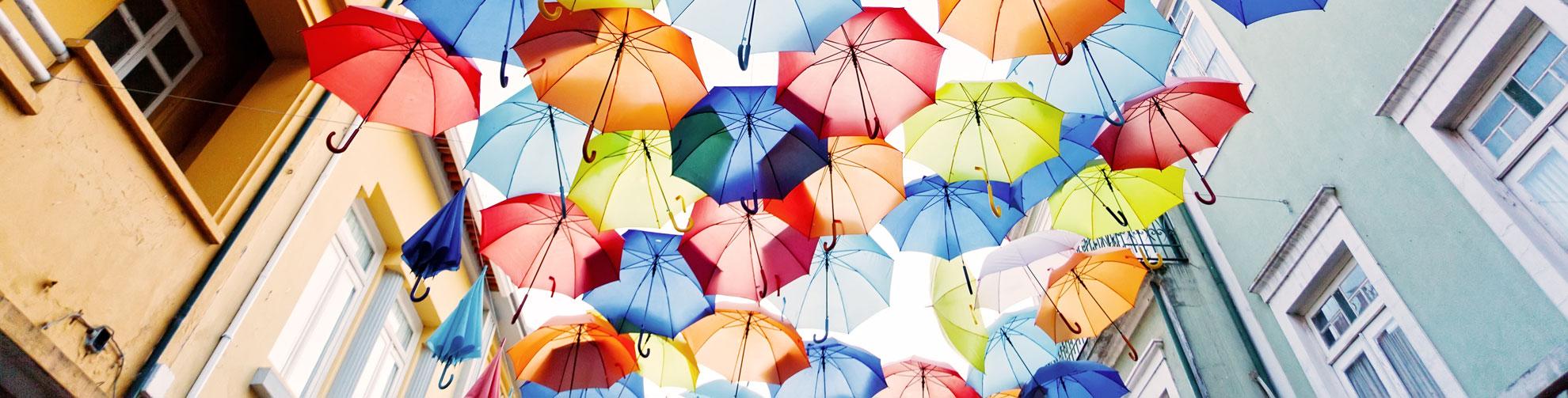 Immagine ombrelli